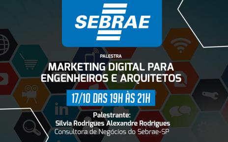 Palestra sobre Marketing Digital