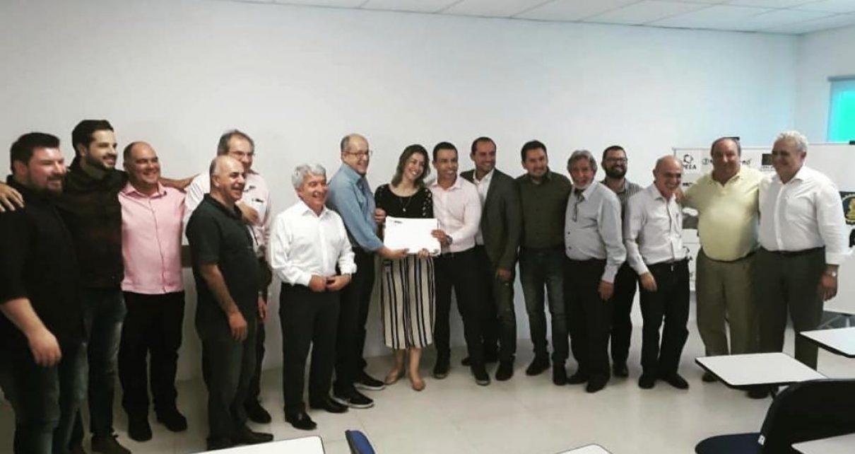 Comissão julgadora concurso revitalização calçadão