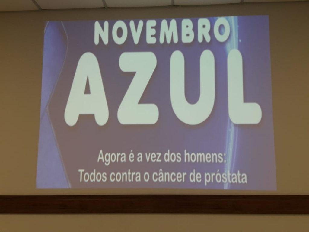 palestra novembro azul