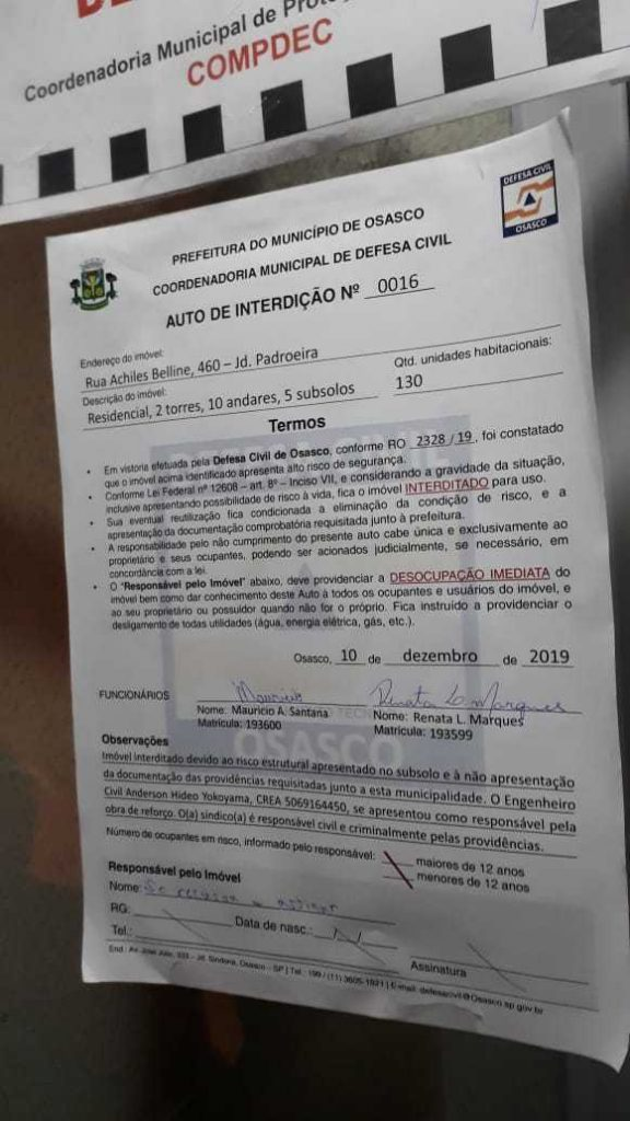 documento defesa civil