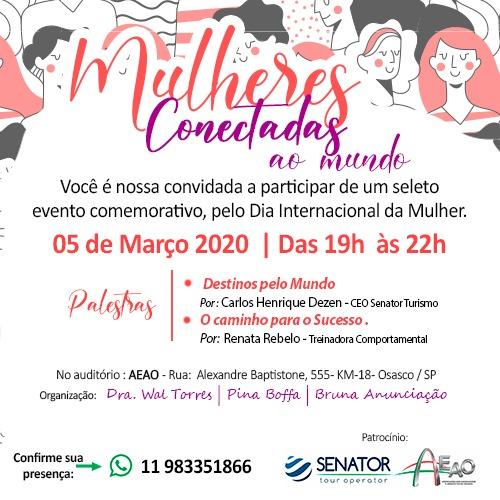 Evento Mulheres Conectadas