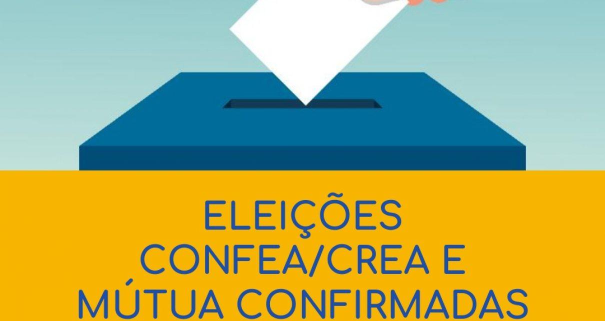 eleições confirmadas