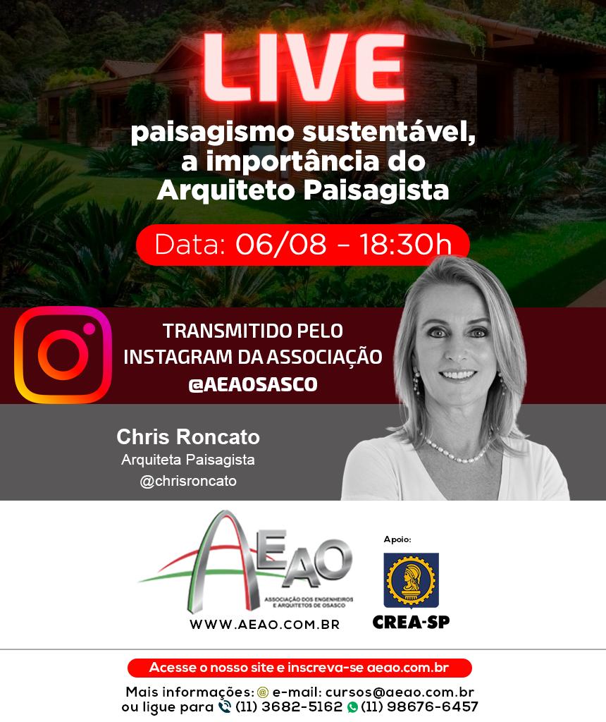 convite live paisagismo